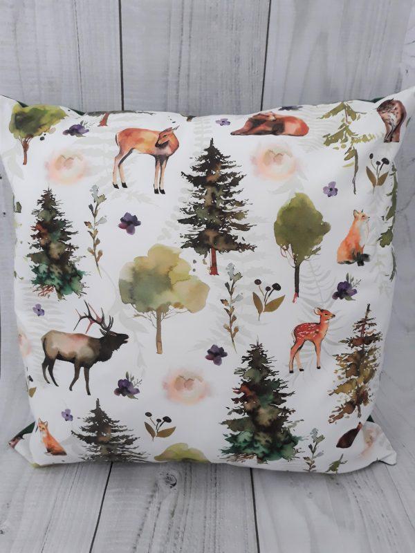 Poduszka ozdobna przyjaciele lasu | Dotspillow.pl
